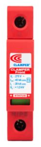 DPS Clamper Front Classe II CA 275V 45kA